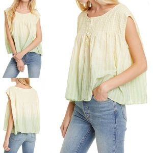 Free People | We the Free FP tank shirt New m